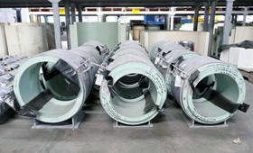 Binder Group Cryogenic Pipe Shoes